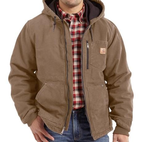 Carhartt Chapman Sandstone Duck Jacket - Insulated (For Men)