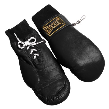 Grandoe Knockout Leather Ski Mittens - Waterproof Insulated (For Women)