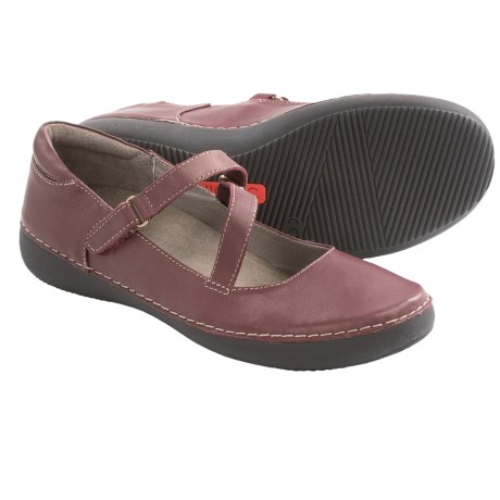 Vionic with Orthaheel Technology Judith Flats - Mary Janes, Leather (For Women)