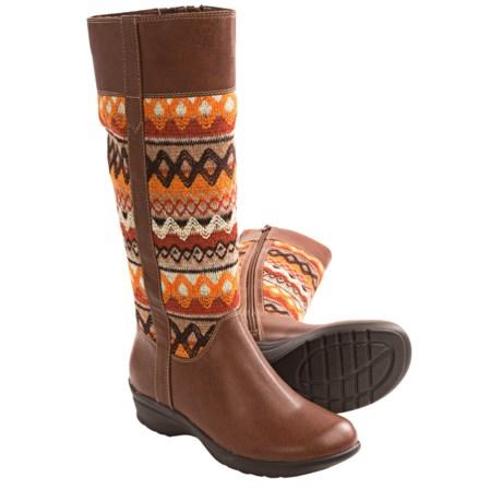Softspots SoftSpots Jersey Boots - Full Zip (For Women)