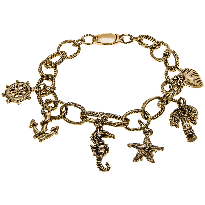nautical charm bracelet save 75
