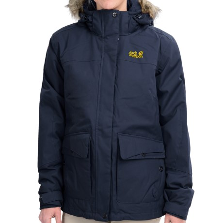 Jack Wolfskin Nova Scotia Texapore Jacket - Waterproof, Insulated (For Women)