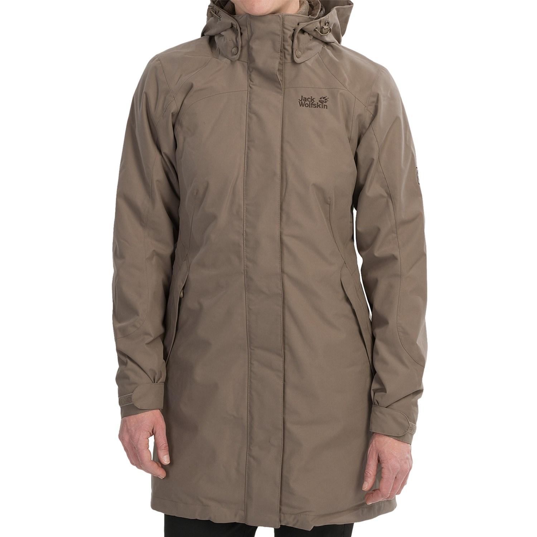 jack wolfskin ottawa coat for women 8609v save 46. Black Bedroom Furniture Sets. Home Design Ideas