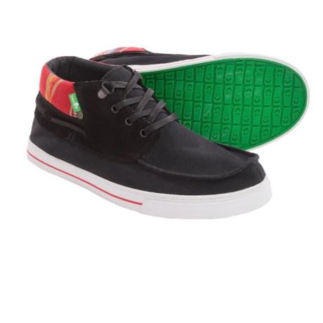 Sanuk Schooner Funk Lace Shoes (For Men)