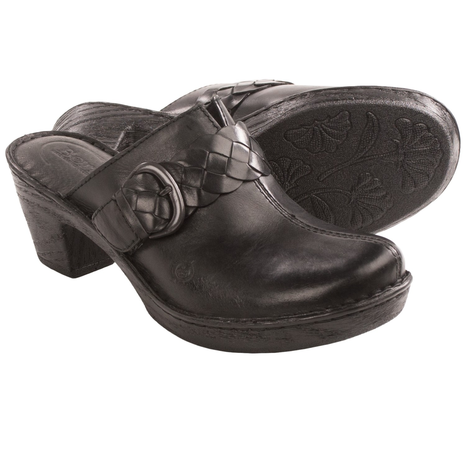 Born Emme Leather Clogs (For Women) 8614Y - Save 44%