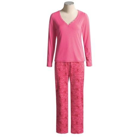 Disney Couture Bambi Pajamas - Long Sleeve  (For Women)
