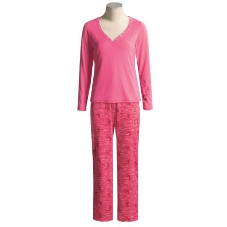 Disney Couture Bambi Pajamas - Long Sleeve  (For Women)