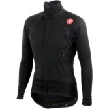 Castelli Alpha Wind Cycling Jersey - Windstopper®, Full Zip, Long Sleeve (For Men)