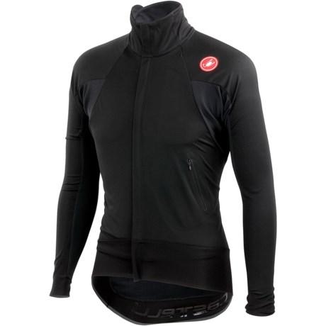 Castelli Alpha Wind Cycling Jersey - Windstopper®, Full Zip, Long Sleeve (For Men)