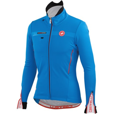 Castelli Espresso 3 Cycling Jacket - Windstopper®, Full Zip (For Men)