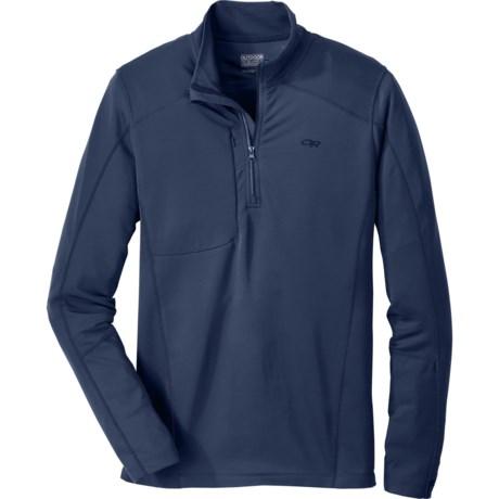 Outdoor Research Delta Zip Shirt - Dri-Release®, FreshGuard®, Long Sleeve (For Men)