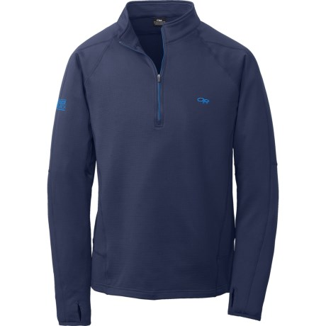 Outdoor Research Radiant LT Fleece Pullover Shirt- Zip Neck, Long Sleeve (For Men)