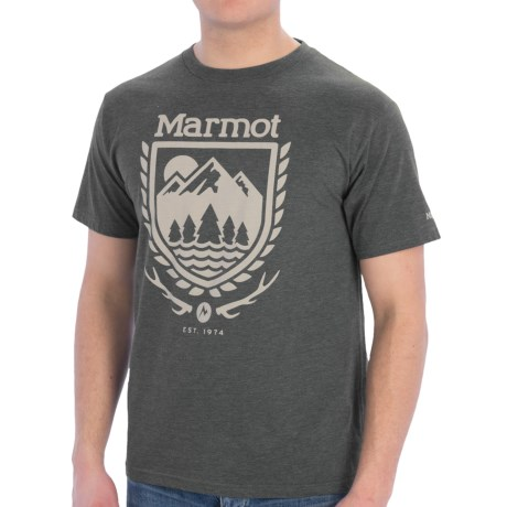 Marmot Lodge T-Shirt - Short Sleeve (For Men)