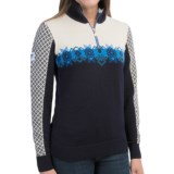Dale of Norway Fjell Sweater - Merino Wool, Zip Neck (For Women)