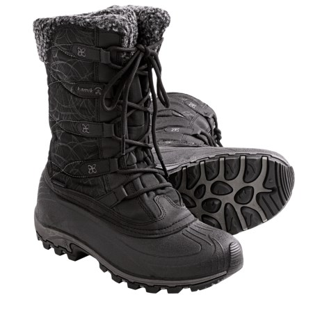 Kamik Fortress Winter Snow Boots - Waterproof, Insulated (For Women)