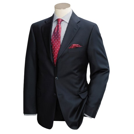 Arnold Brant Superfine Wool Suit - Two-Button (For Men)