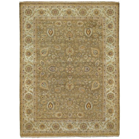 Kaleen Royal Signature Collection Area Rug - 6x9', Hand-Knotted Wool