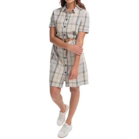 Barbour Glaisnock Linen Shirtdress - Short Sleeve (For Women)