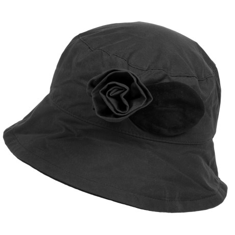 Barbour Waxed-Cotton Bucket Hat (For Women)