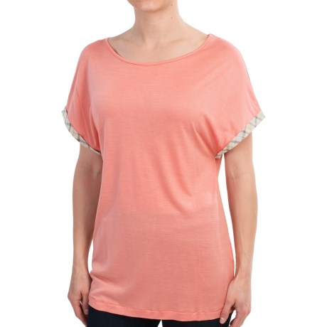Barbour Ceall Midlayer Shirt - Short Sleeve (For Women)