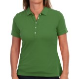 Barbour Lowesstoft Polo Shirt - Stretch Cotton, Short Sleeve (For Women)