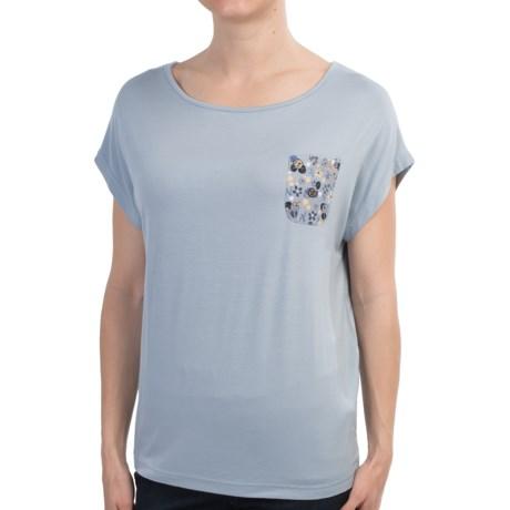 Barbour Abrosa Midlayer Shirt - Short Sleeve (For Women)