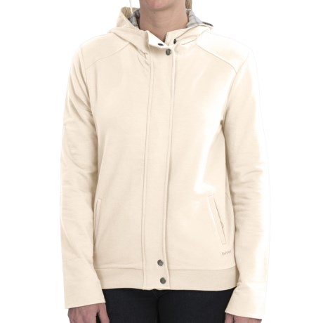 Barbour International Woodeaves Hooded Sweatshirt - Stretch Cotton (For Women)