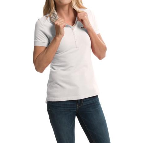 Barbour Miller Pique Polo Shirt - Stretch Cotton, Short Sleeve (For Women)