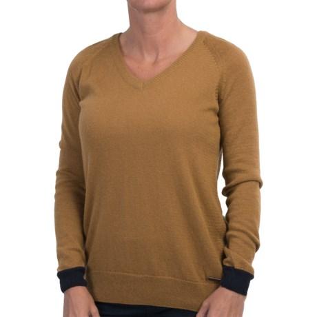 Barbour Kelley V-Neck Sweater (For Women)