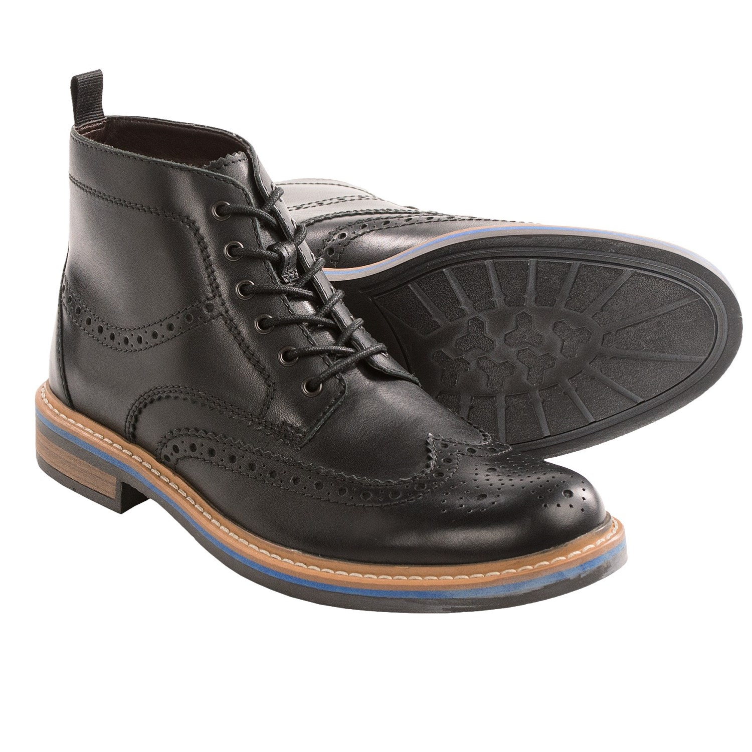 clarks darby rise wingtip boots for 8659g save 28