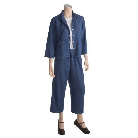 Orvis Shirt-Jacket and Pants Set - TENCEL®-Cotton Denim (For Women)