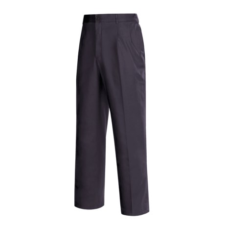 Pleated Front Pants (For Men)