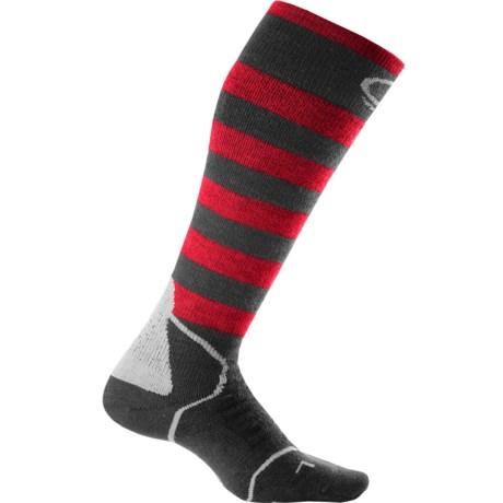 Icebreaker Midweight Snowboard Socks - Merino Wool, Over-the-Calf (For Men)