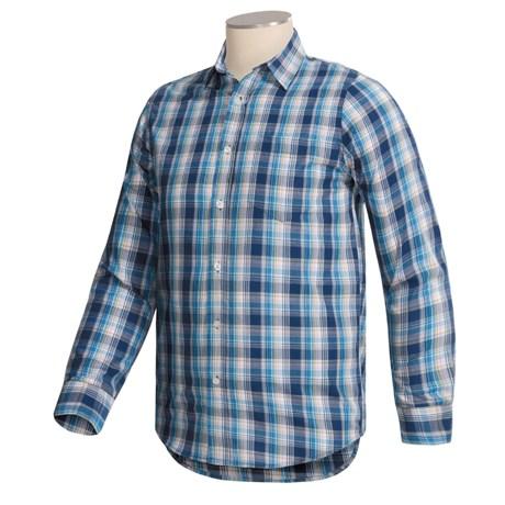 Button-Up Cotton Shirt - Long Sleeve (For Men)