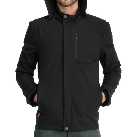 Icebreaker Legion Zip Hooded Jacket - Merino Wool (For Men)