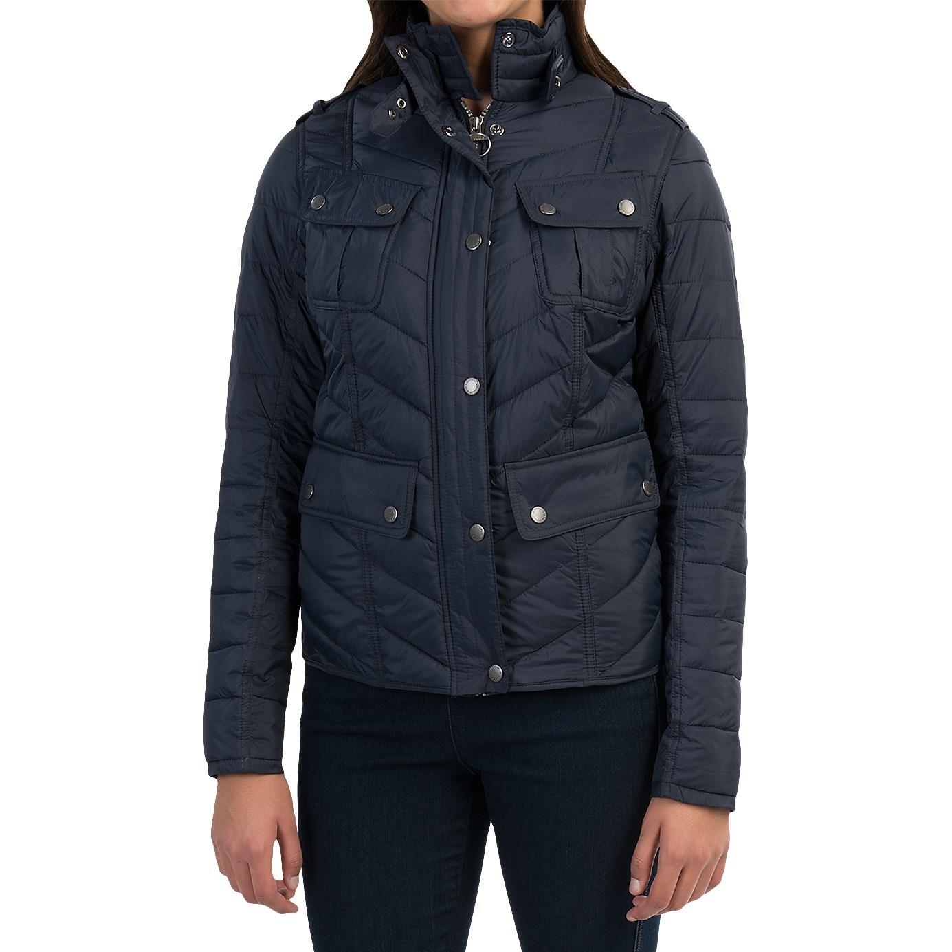 Barbour Vision Boulevard Moto Jacket For Women 8668t