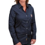 Barbour Ashfarm Stretch Cotton Shirt - Long Sleeve (For Women)
