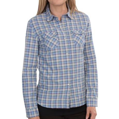 Barbour Grayling Flannel Shirt - Long Sleeve (For Women)