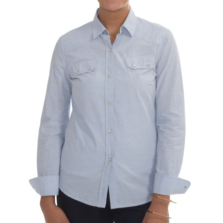 Barbour Budock Cotton Shirt - Long Sleeve (For Women)