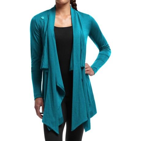 Icebreaker Bliss Wrap Cardigan - UPF 30+, Merino Wool, Long Sleeve (For Women)