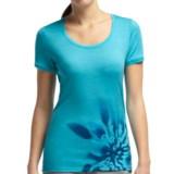 Icebreaker Tech Lia Shirt - UPF 30+, Merino Wool, Short Sleeve (For Women)