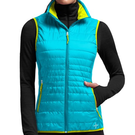 Icebreaker Helix MerinoLoft Vest - Insulated, Merino Wool Lining (For Women)
