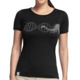 Icebreaker Tech T Lite Shirt - Merino Wool, Short Sleeve (For Women)