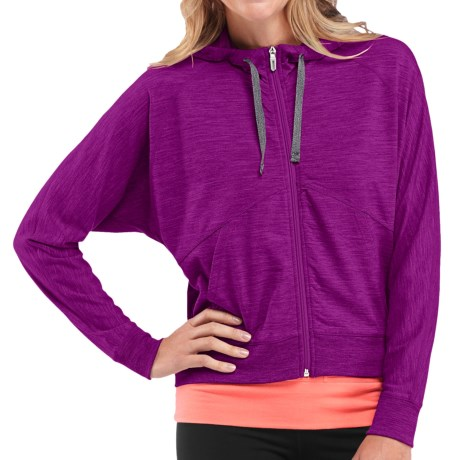 Icebreaker Sublime Hoodie - Merino Wool, UPF 20+, Full Zip (For Women)