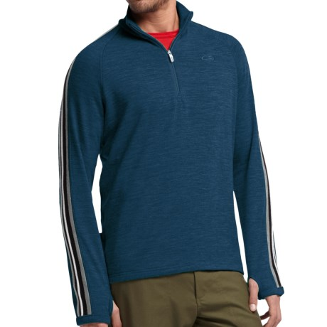 Icebreaker Coronet Sweater - Merino Wool, UPF 20+, Zip Neck (For Men)