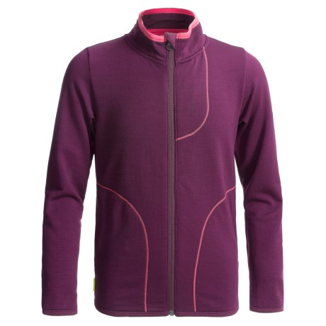 Icebreaker Camper Jacket - Merino Wool, UPF 30+ (For Kids)