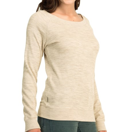 Icebreaker Crave Sweater - Merino Wool, UPF 20+ (For Women)