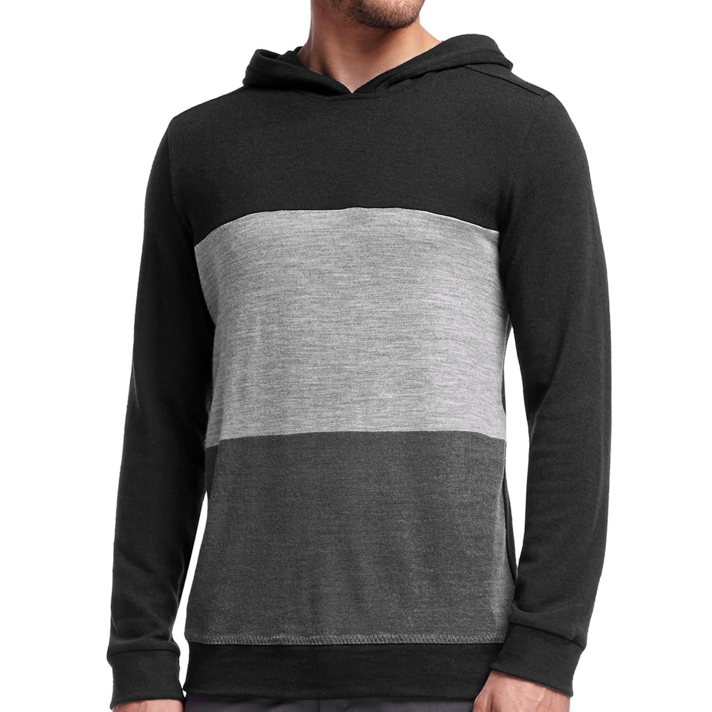Merino hoodie mens