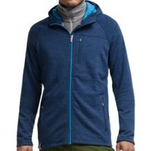 Icebreaker Sierra Plus RealFleece Jacket - Merino Wool (For Men) in Equinox Heather - Closeouts