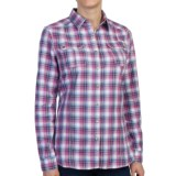 Barbour Minerva Cotton Shirt - Snap Front, Long Sleeve (For Women)